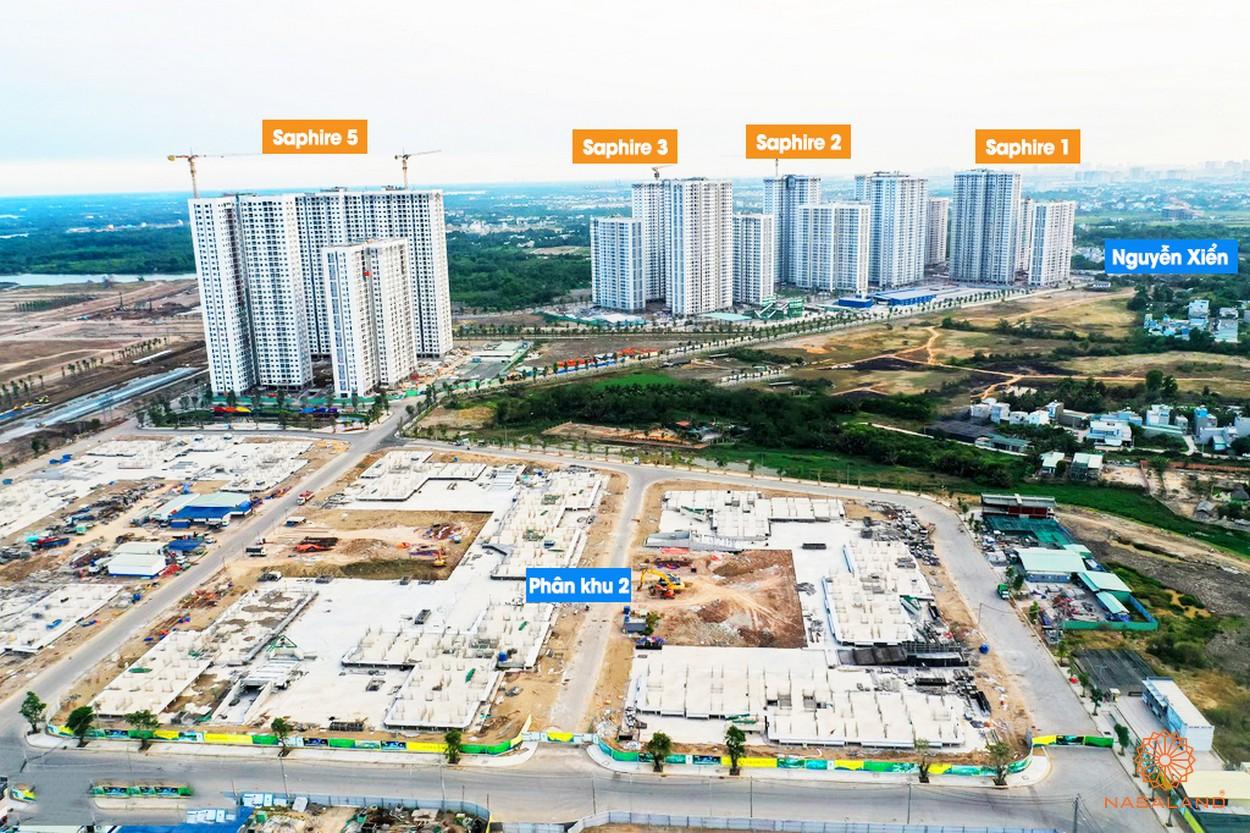 Tiến độ xây dựng căn hộ The Rainbow Vinhomes Grand Park Quận 9 tháng 4/2020 đường Nguyễn Xiển chủ đầu tư Vingroup