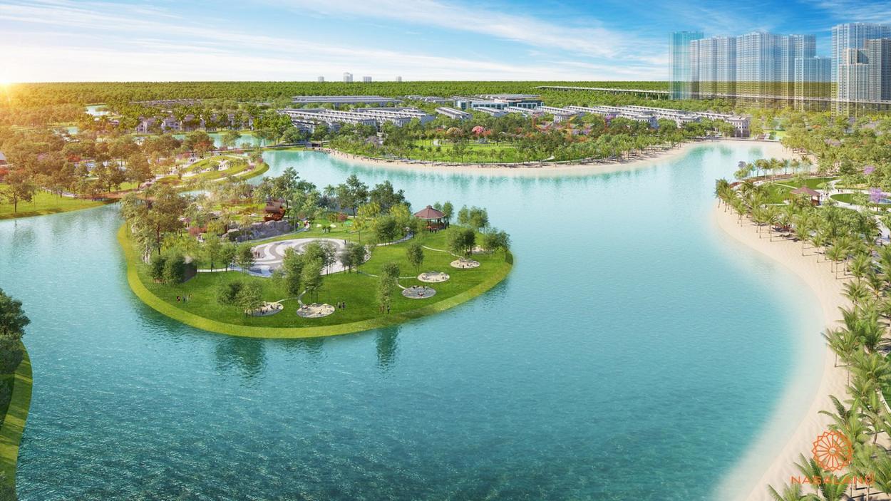 Hình ảnh phối cảnh công viên 36ha dự án khu đô thị Vinhomes Grand Park Quận 9 Chủ đầu tư Vingroup