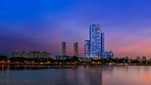 Hình ảnh phối cảnh dự án căn hộ Gateway Thảo Điền Quận 2 Chủ đầu tư Sơn Kim Land