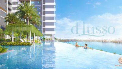 Hình ảnh phối cảnh dự án căn hộ D'lusso Emerald Quận 2 Chủ đầu tư Điền Phúc Thành