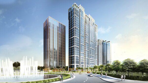 Hình ảnh phối cảnh căn hộ City Grand