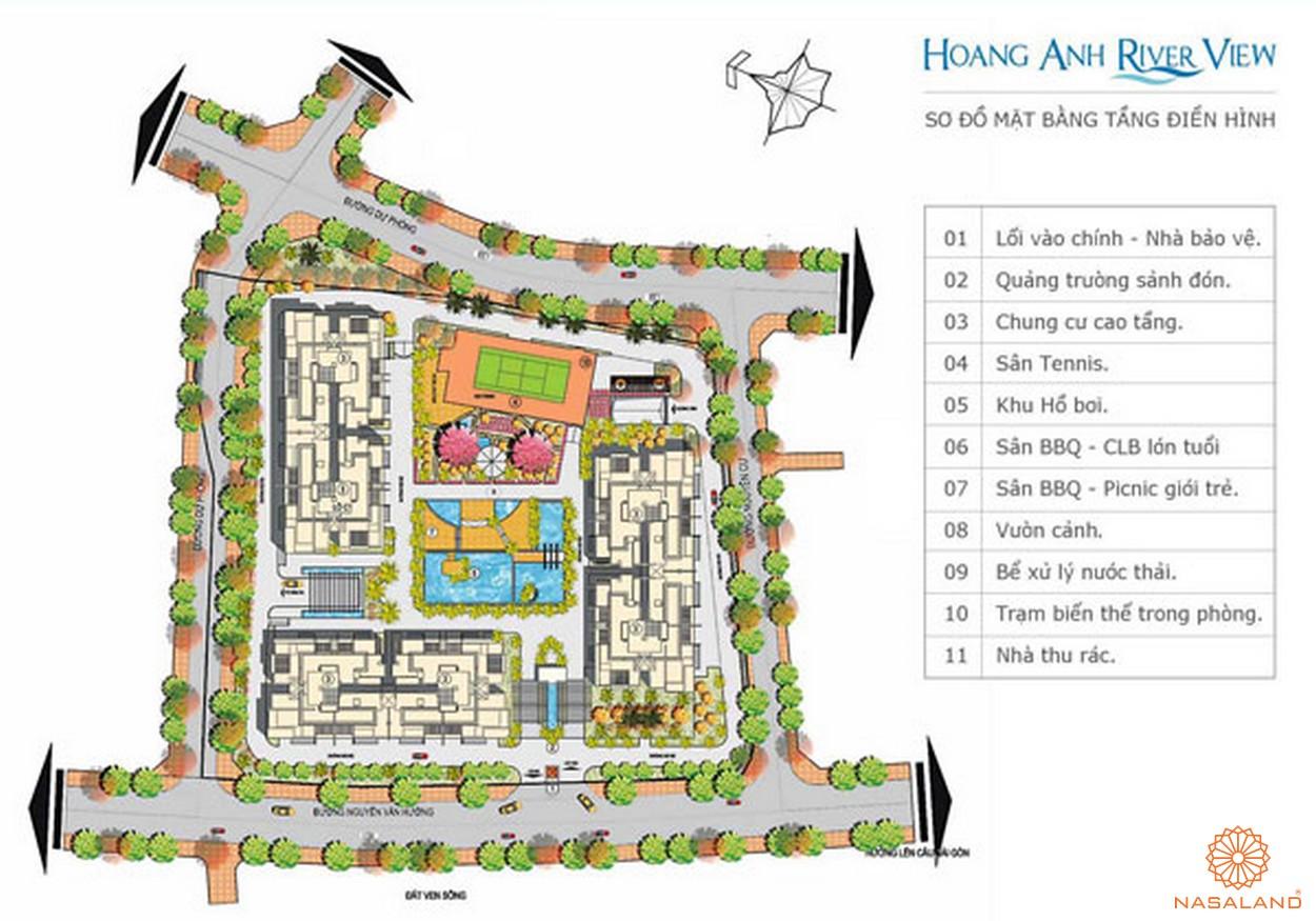 Tiện ích dự án căn hộ Hoàng Anh Riverview Quận 2 đường 37 Nguyễn Văn Hưởng chủ đầu tư Hoàng Anh Gia Lai