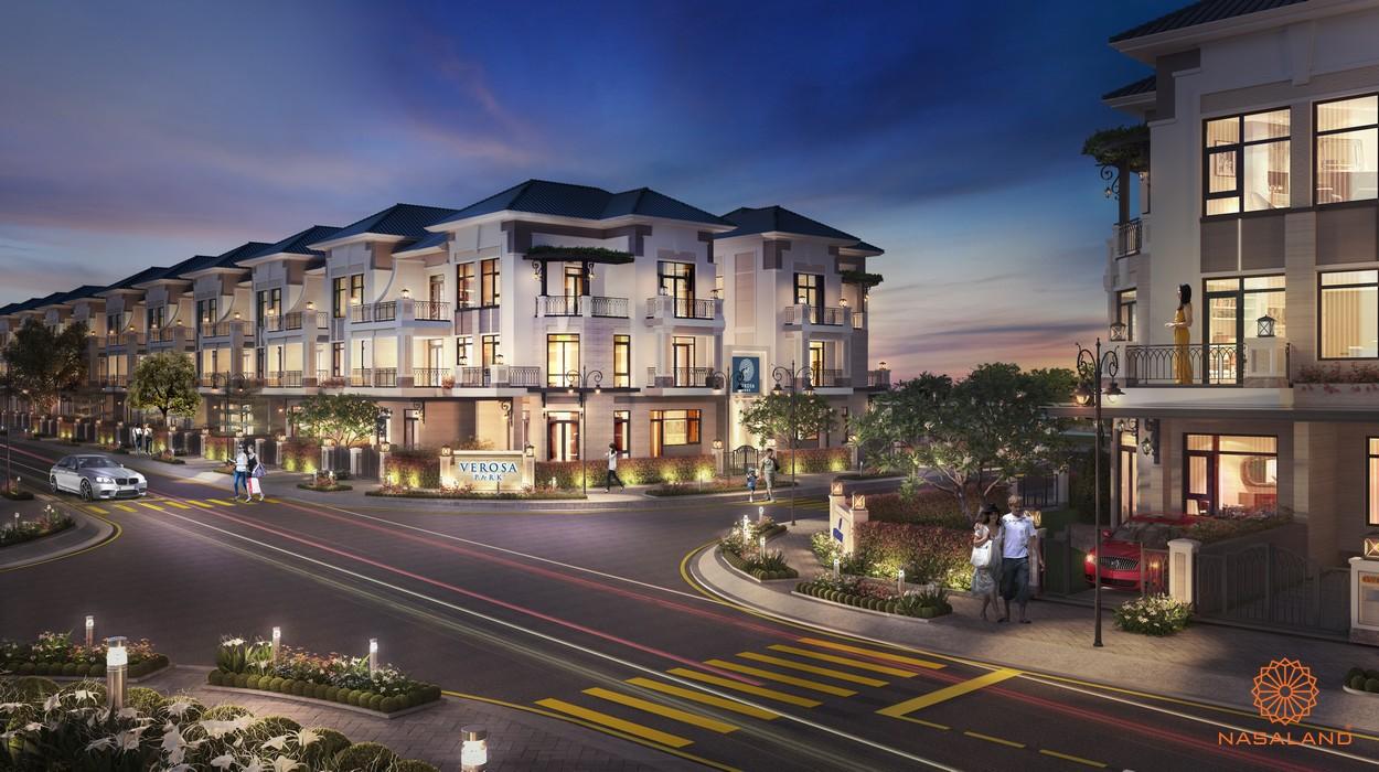 Mẫu thiết kế nhà dự án nhà phố Verosa Park Khang Điền Quận 9
