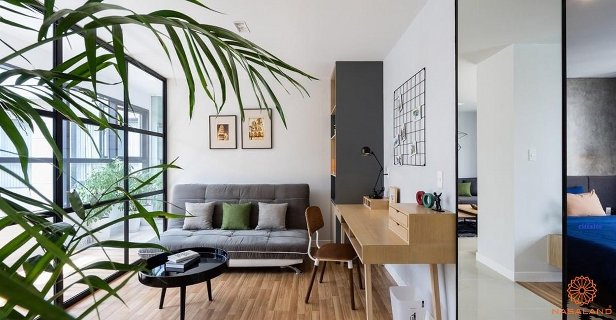 Nhà mẫu dự án căn hộ CitiAlto