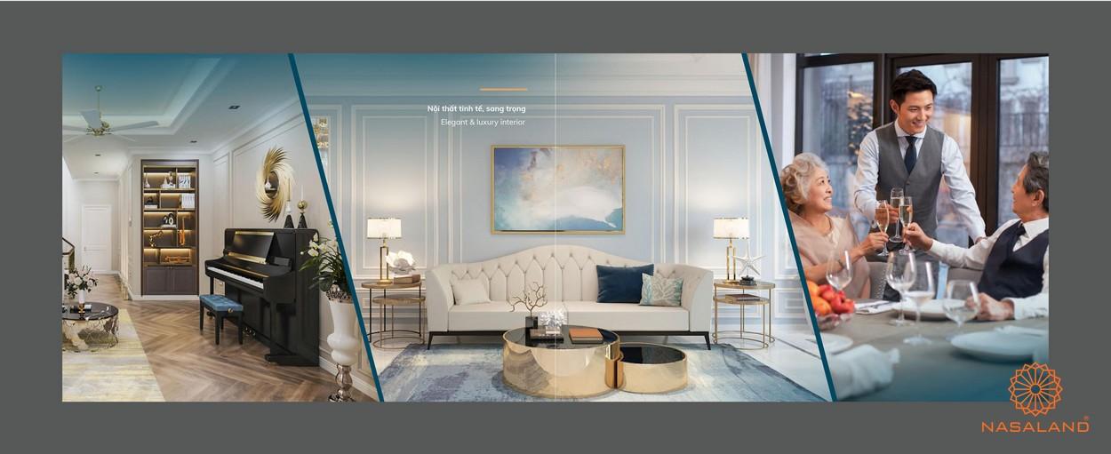 Nhà mẫu và thiết kế nội thất tại dự án