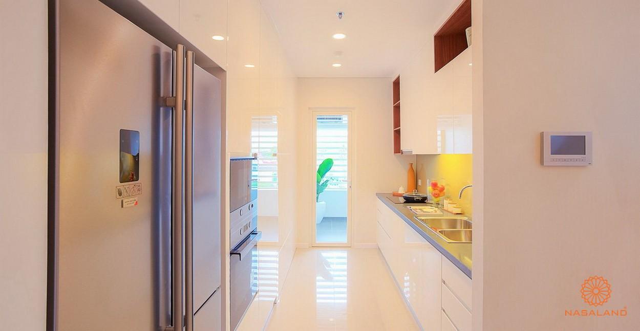 Nội thất phòng bếp căn hộ chung cư Sarimi Quận 2
