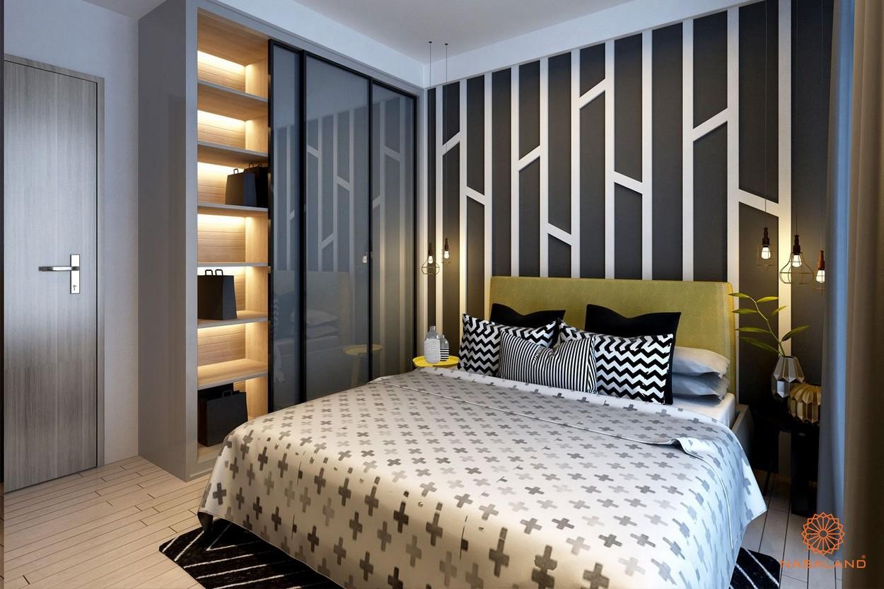 Nội thất phòng ngủ của dự án chung cư Sarimi Sala Quận 2