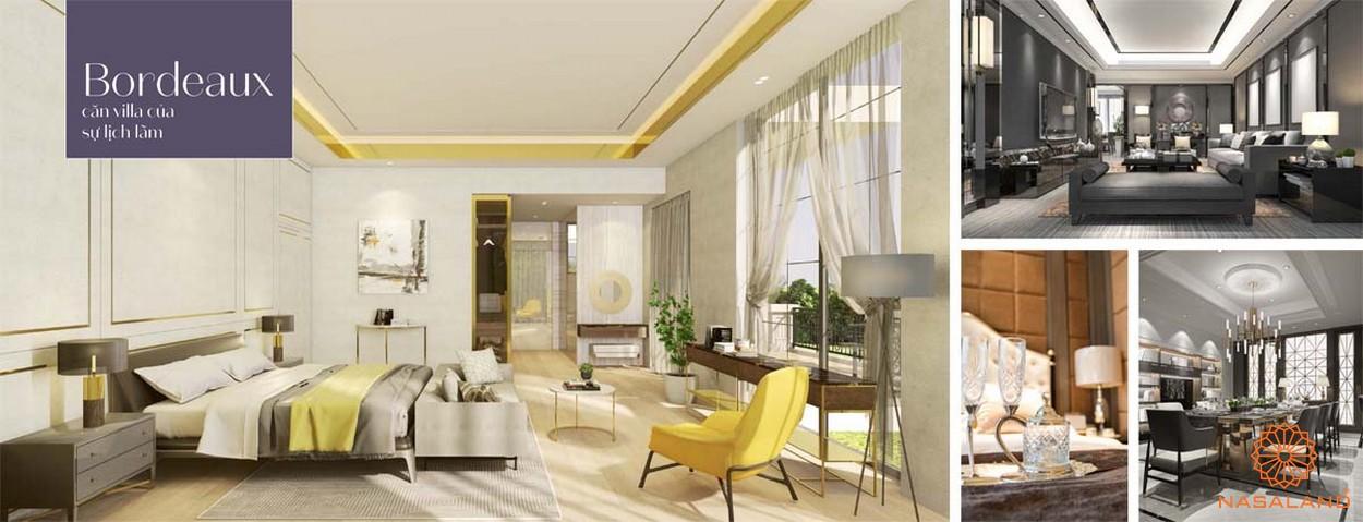 Nội thất dự án biệt thự King Grown Village Thảo Điền Quận 2 Chủ đầu tư Bamboo Capital