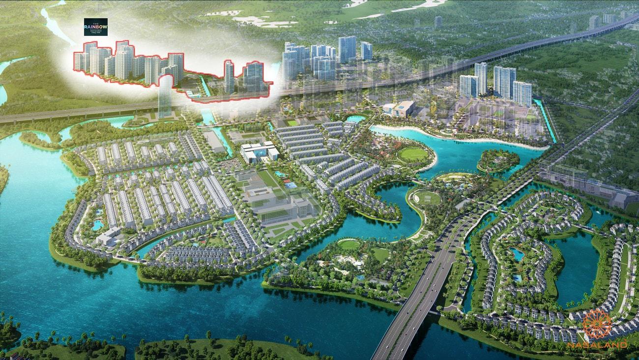 Hình ảnh phối cảnh dự án căn hộ The Rainbow Vinhomes Grand Park Quận 9 Chủ đầu tư Vingroup
