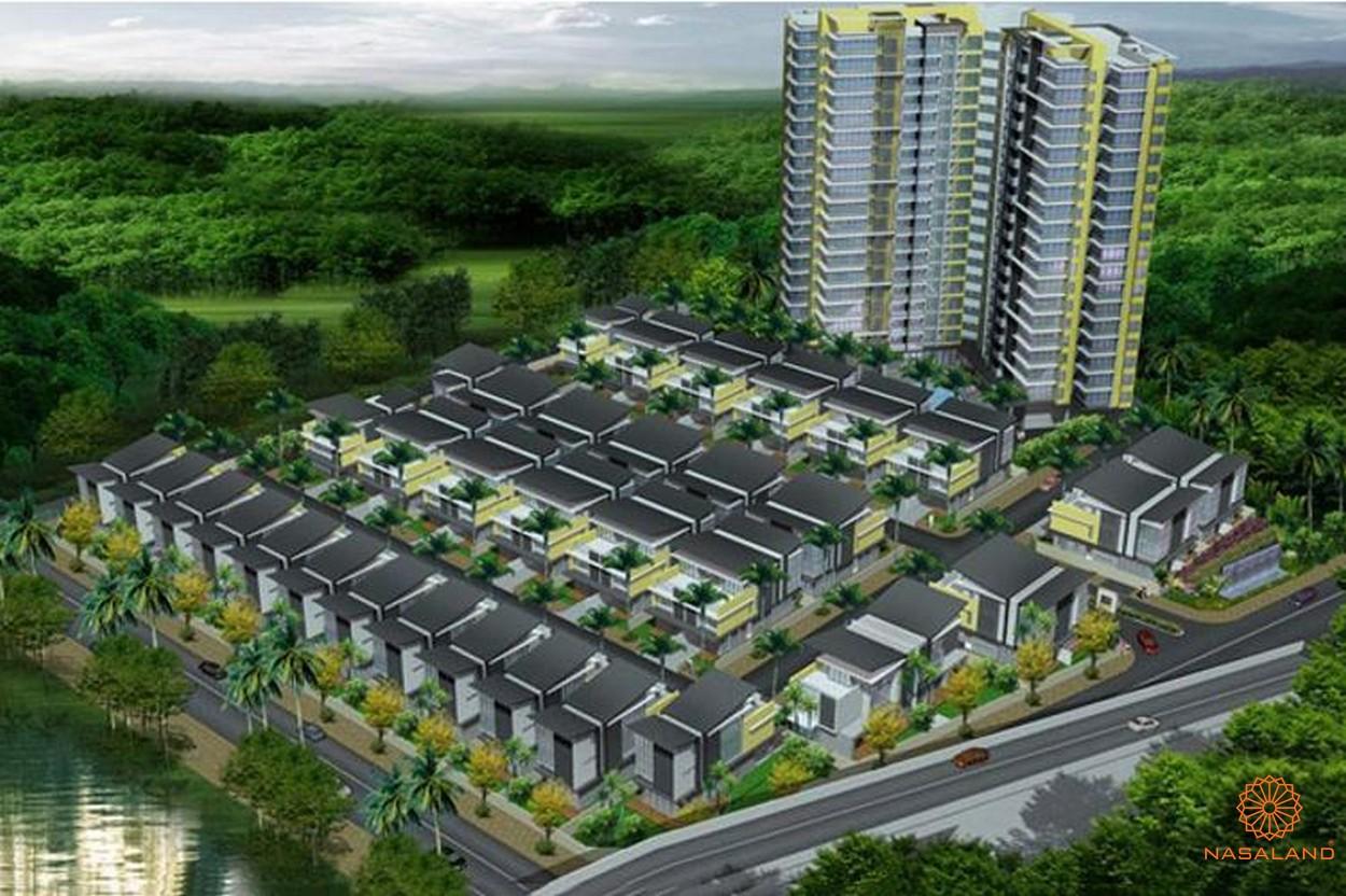Phối cảnh dự án biệt thự, căn hộ The Garland Quận 9