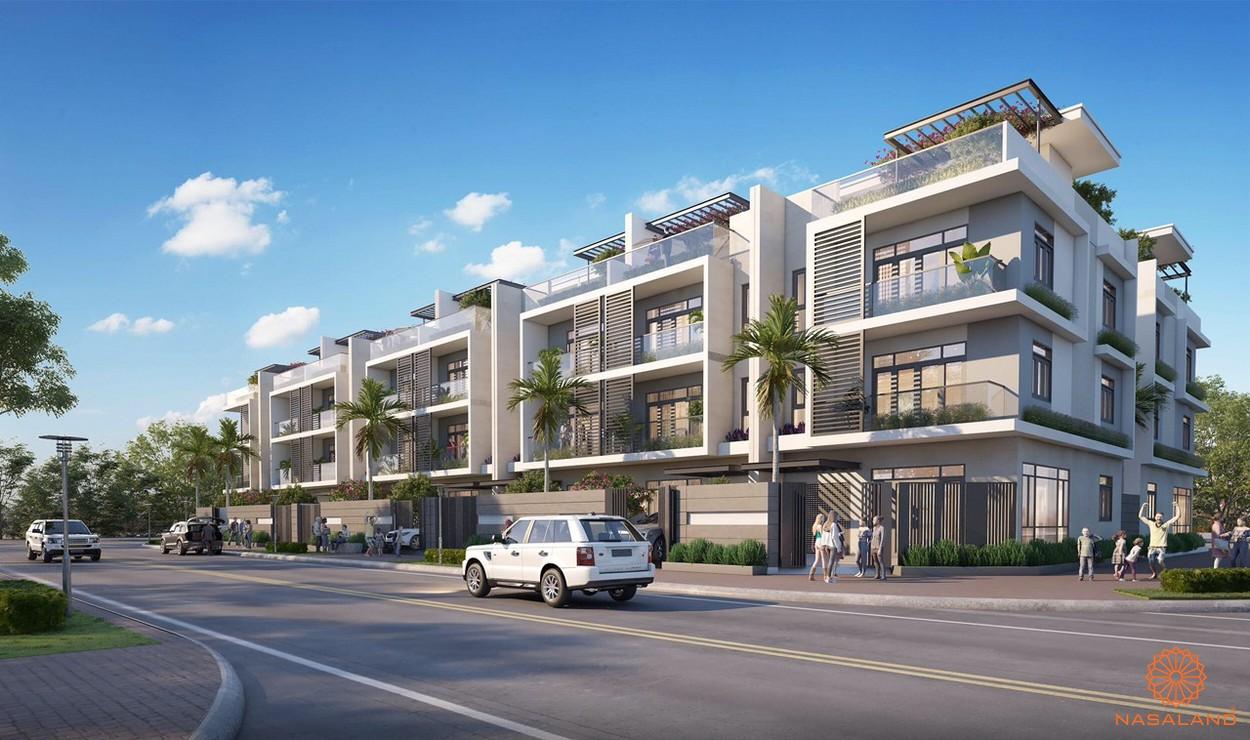 Phối cảnh tổng thể dự án An Phú New City