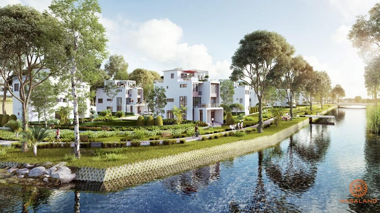 Phối cảnh dự án nhà phố biệt thự Rio Vista Quận 9