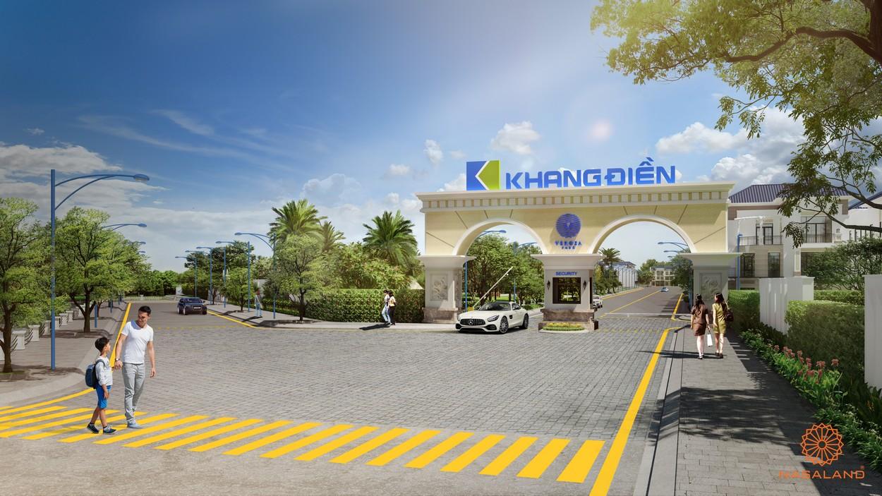 Hình ảnh phối cảnh dự án nhà phố Verosa Park Quận 9 Chủ đầu tư Khang Điền