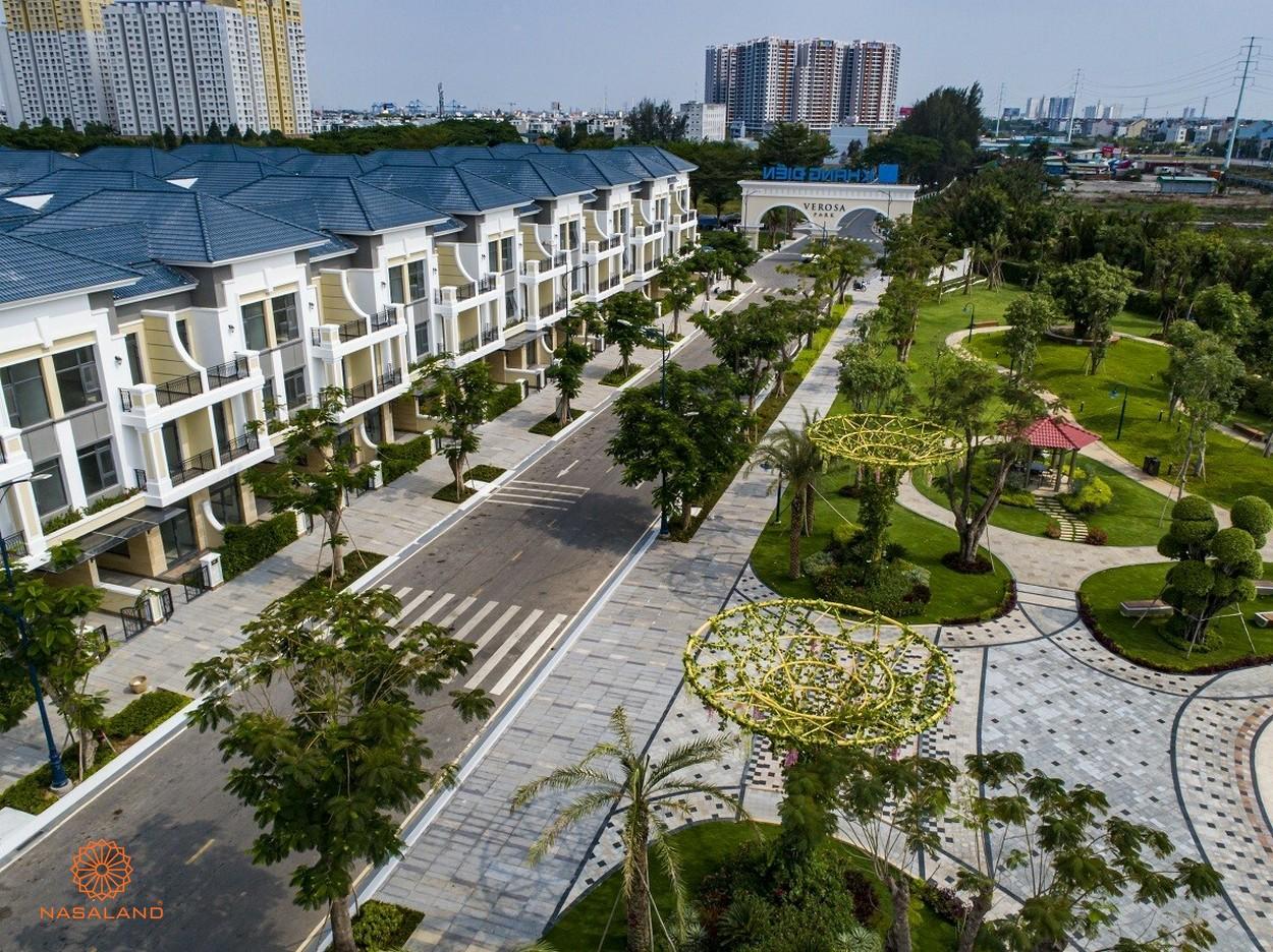 Nhà mẫu dự án nhà phố Verosa Park Khang Điền Quận 9