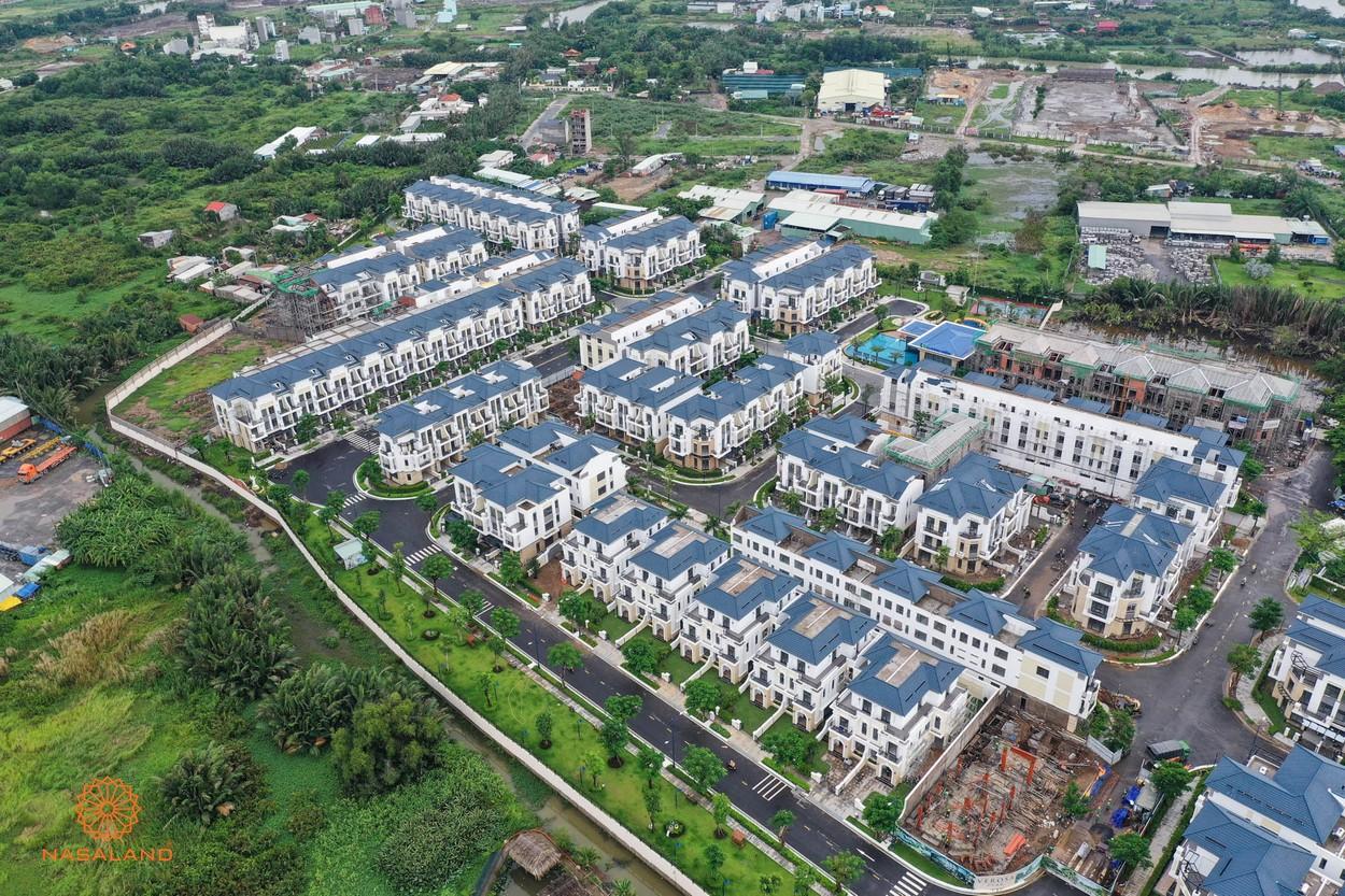 Phối cảnh dự án nhà phố Verosa Park Khang Điền Quận 9