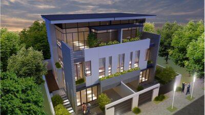 Nhà mẫu dự án dự án The Garland Quận 9