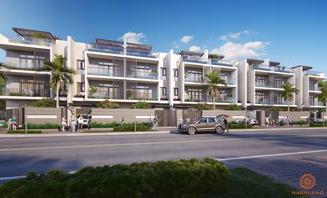 Thiết kế nhà phố An Phú New City