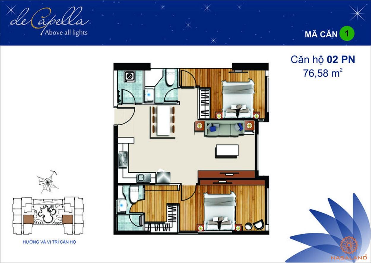 Thiết kế dự án De Capella Quận 2 - Mã 1
