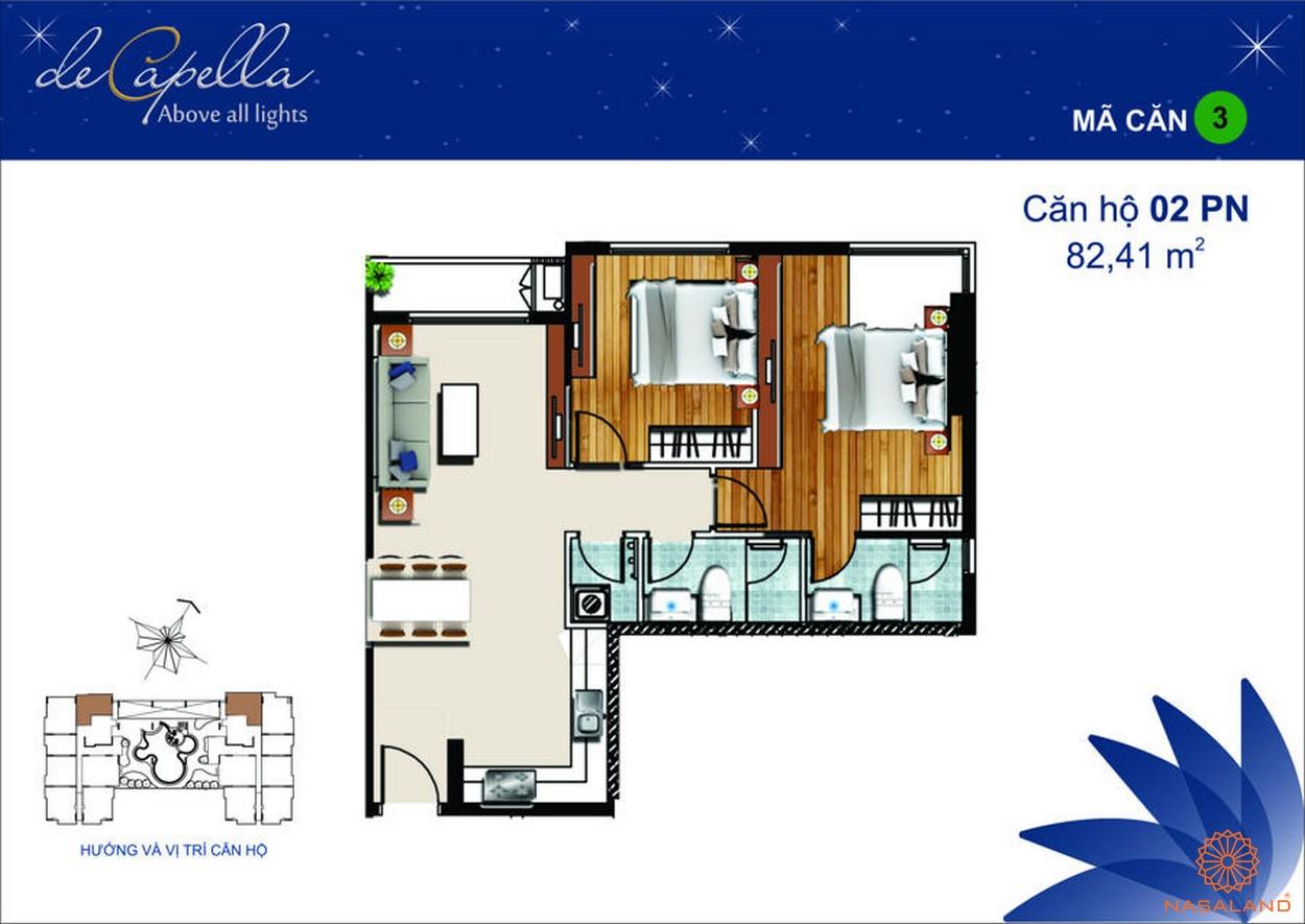 Thiết kế dự án De Capella Quận 2 - Mã 3