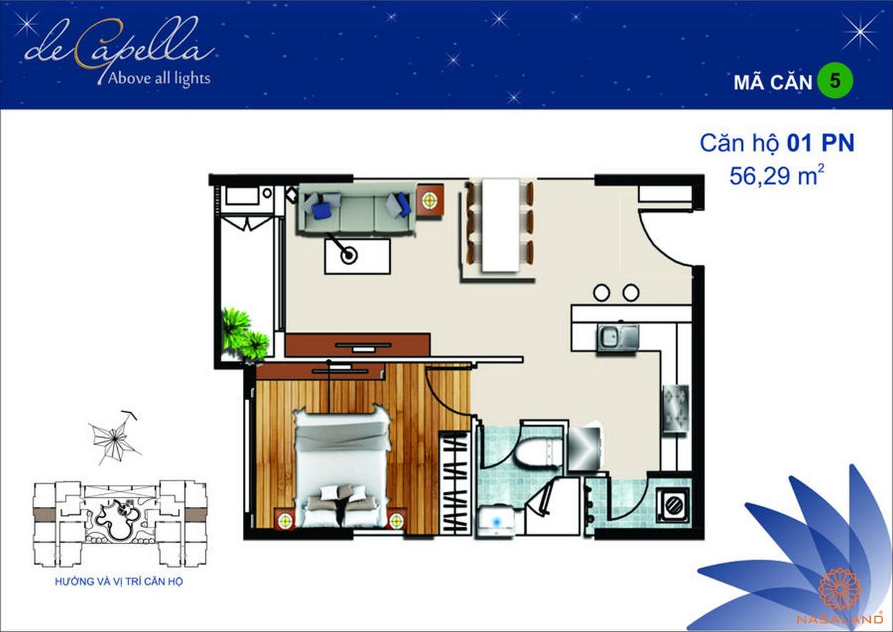 Thiết kế dự án De Capella Quận 2 - Mã 5