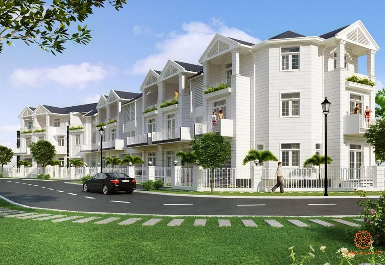 Phối cảnh dự án biệt thự nhà phố Hoja Villa Quận 9