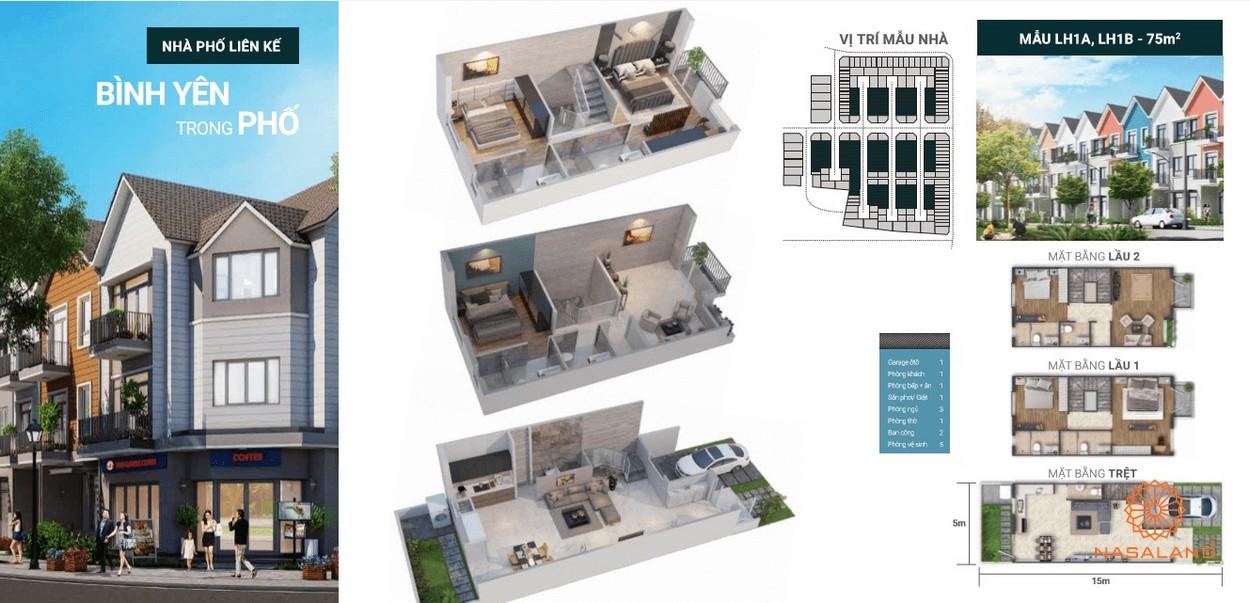 Thiết kế dự án nhà phố Park Riverside Quận 9