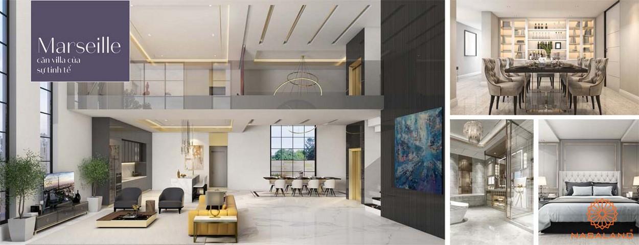 Thiết kế dự án biệt thự King Grown Village Thảo Điền Quận 2 Chủ đầu tư Bamboo Capital