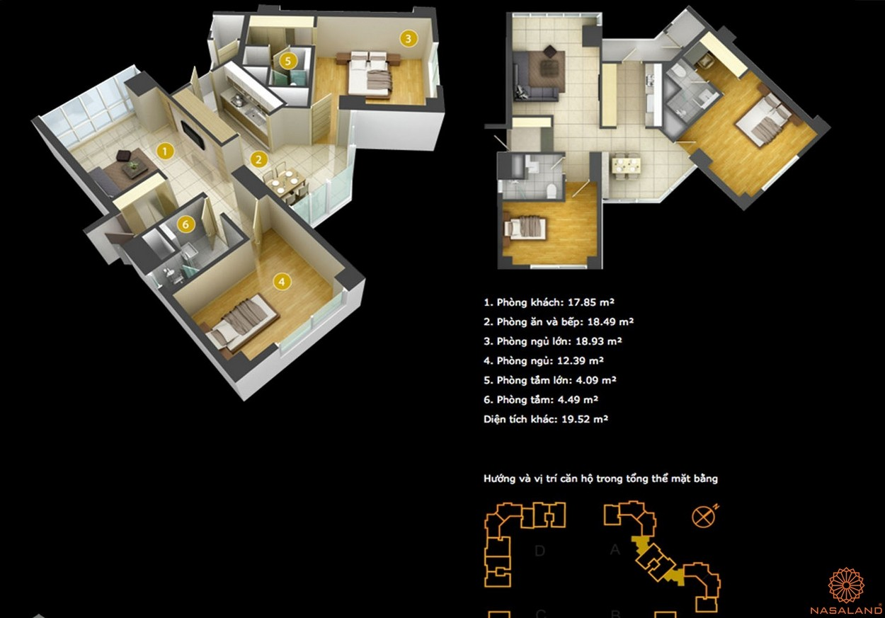 Thiết kế tổng thể dự án căn hộ Imperia An Phú quận 2