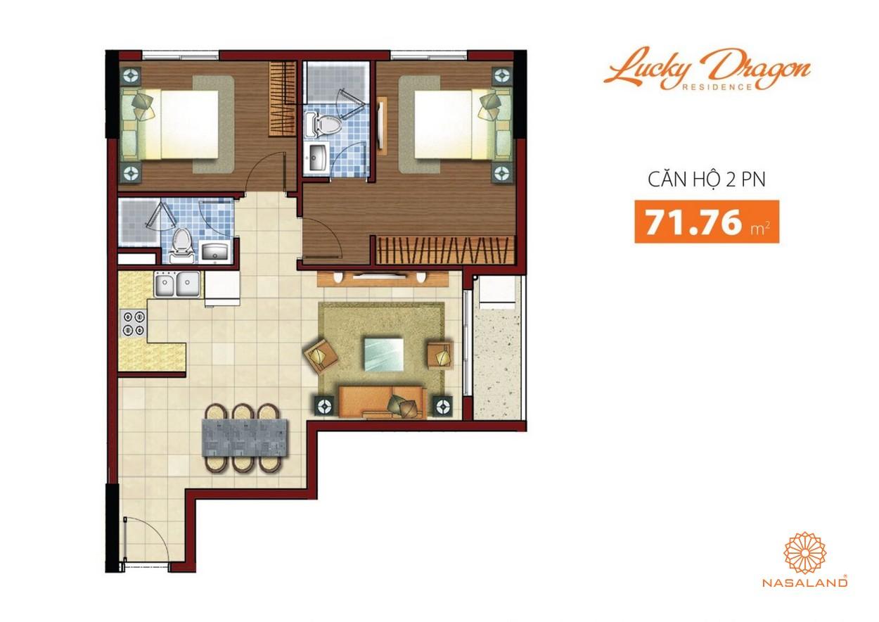 Thiết kế dự án căn hộ nhà phố Lucky Dragon Quận 9