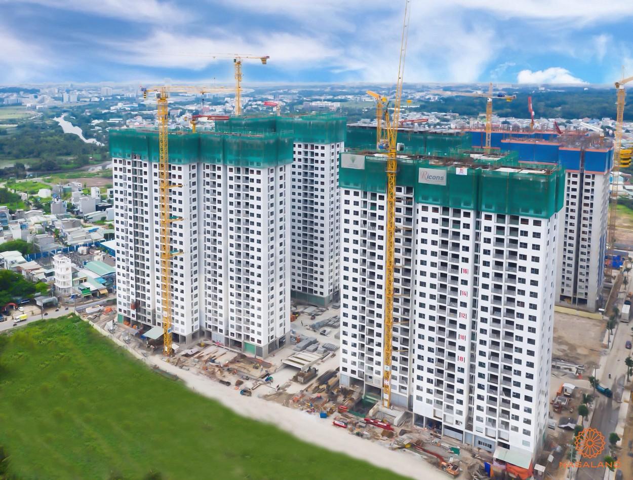 Tiến độ xây dựng cập nhật tháng 12/2019