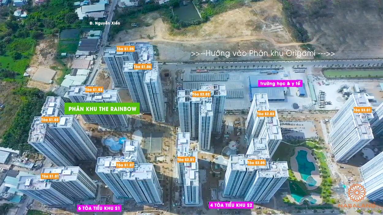 Tiến độ xây dựng căn hộ The Rainbow T3/2020