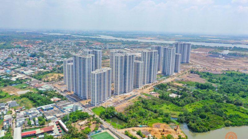 Tiến độ dự án căn hộ chung cư The Rainbow Vinhomes Grand Park Quận 9 Đường Nguyễn Xiển chủ đầu tư Vingroup