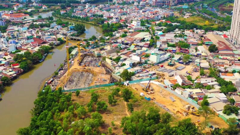 Tiến độ dự án căn hộ D'lusso Emerald Quận 2 cập nhật tháng 3 năm 2020