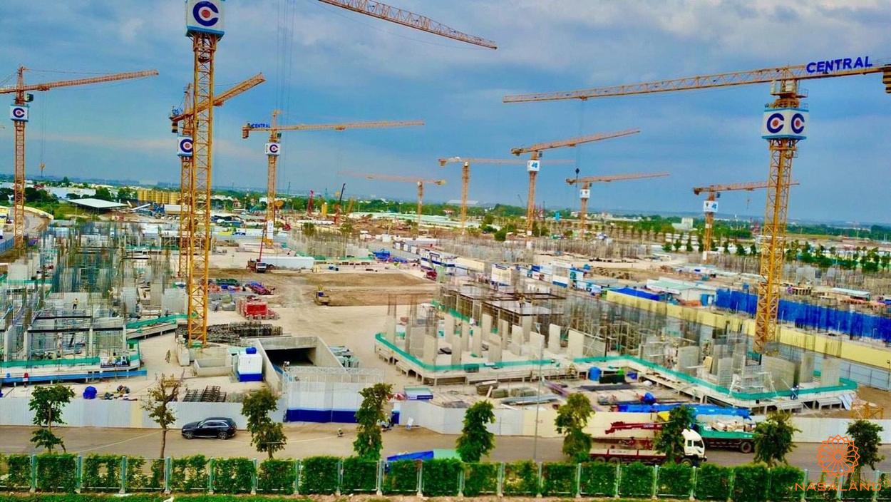 Tiến đô xây dựng tại The Origami 31/8/2020