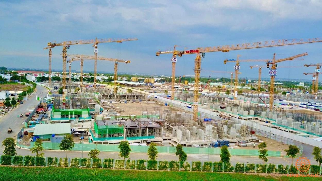 Tiến đô xây dựng dự án căn hộ The Origami 31/8/2020