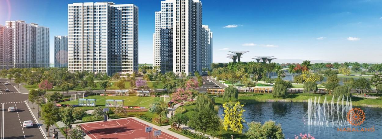 Tiện ích dự án khu đô thị Vinhomes Grand Park Quận 9 Chủ đầu tư Vingroup