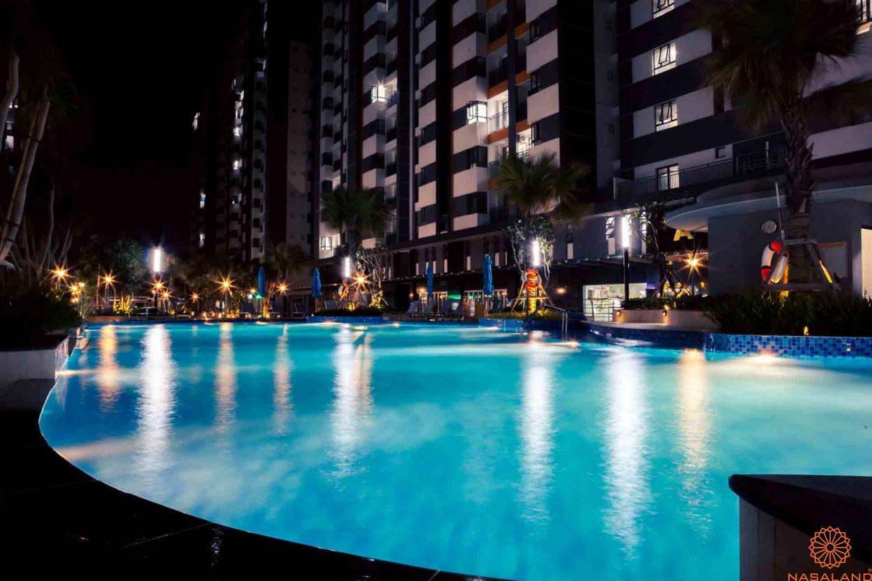 Tiện ích căn hộ Him Lam Phú An quận 9 - hồ bơi