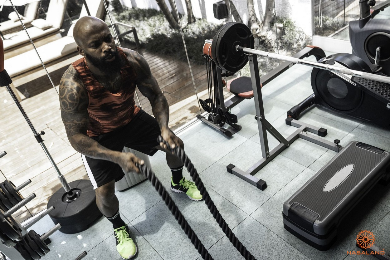 Tiện ích căn hộ Him Lam Phú An quận 9 - phòng gym