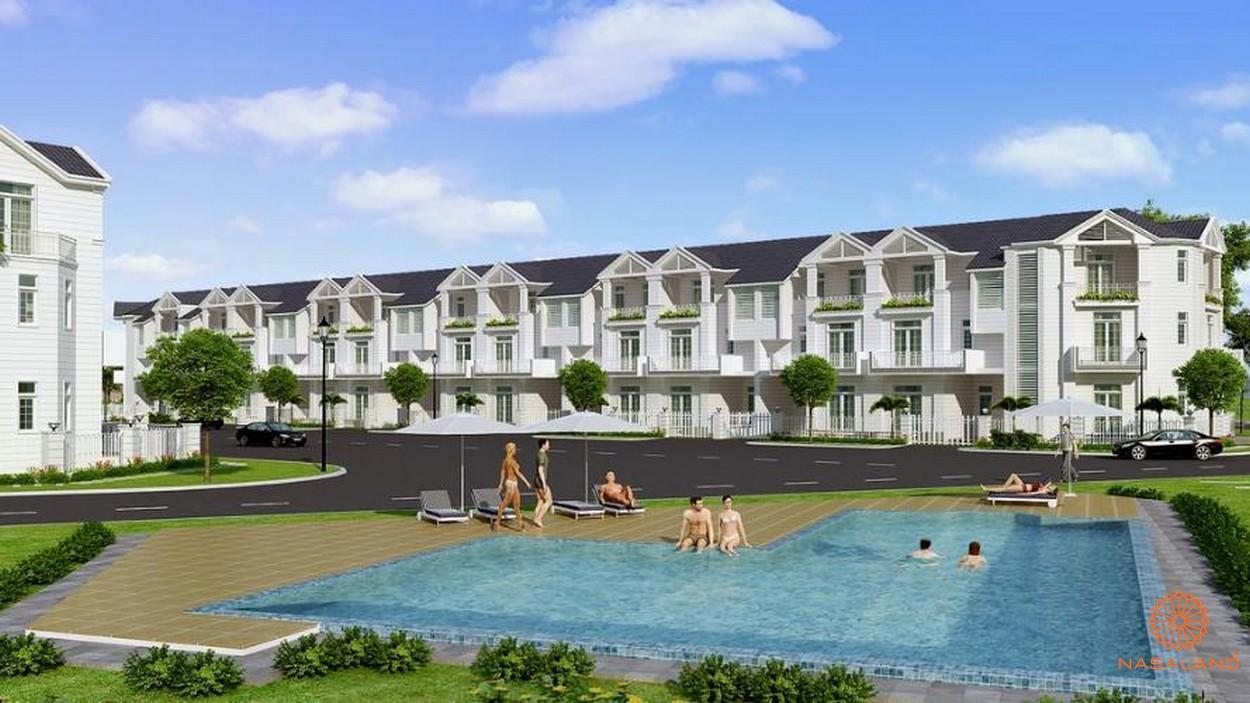 Tiện ích hồ bơi tại dự án biệt thự nhà phố Hoja Villa Quận 9