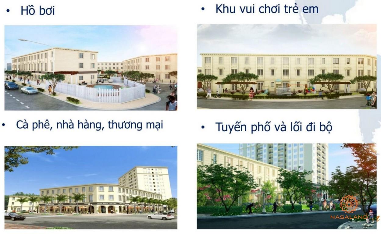 Tiện ích dự án căn hộ nhà phố Lucky Dragon Quận 9