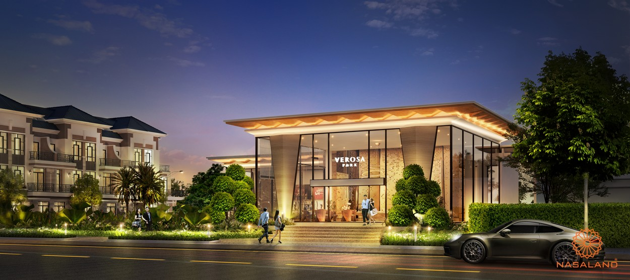 Nhà điều hành và sinh hoạt công cộng tại dự án nhà phố Verosa Park Khang Điền Quận 9