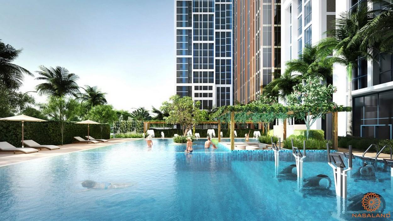 Tiện ích hồ bơi căn hộ CitiAlto
