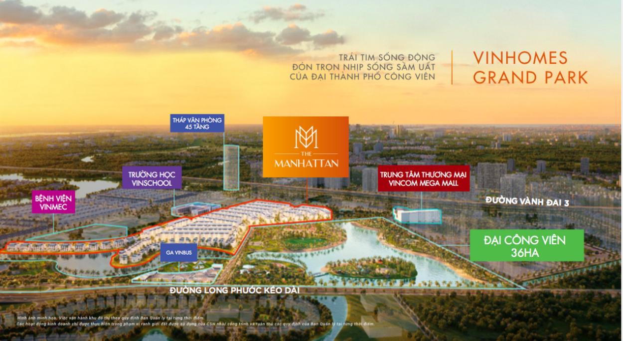 Tâm huyết của chủ đầu tư với The Mahattan Vinhomes Grand Park