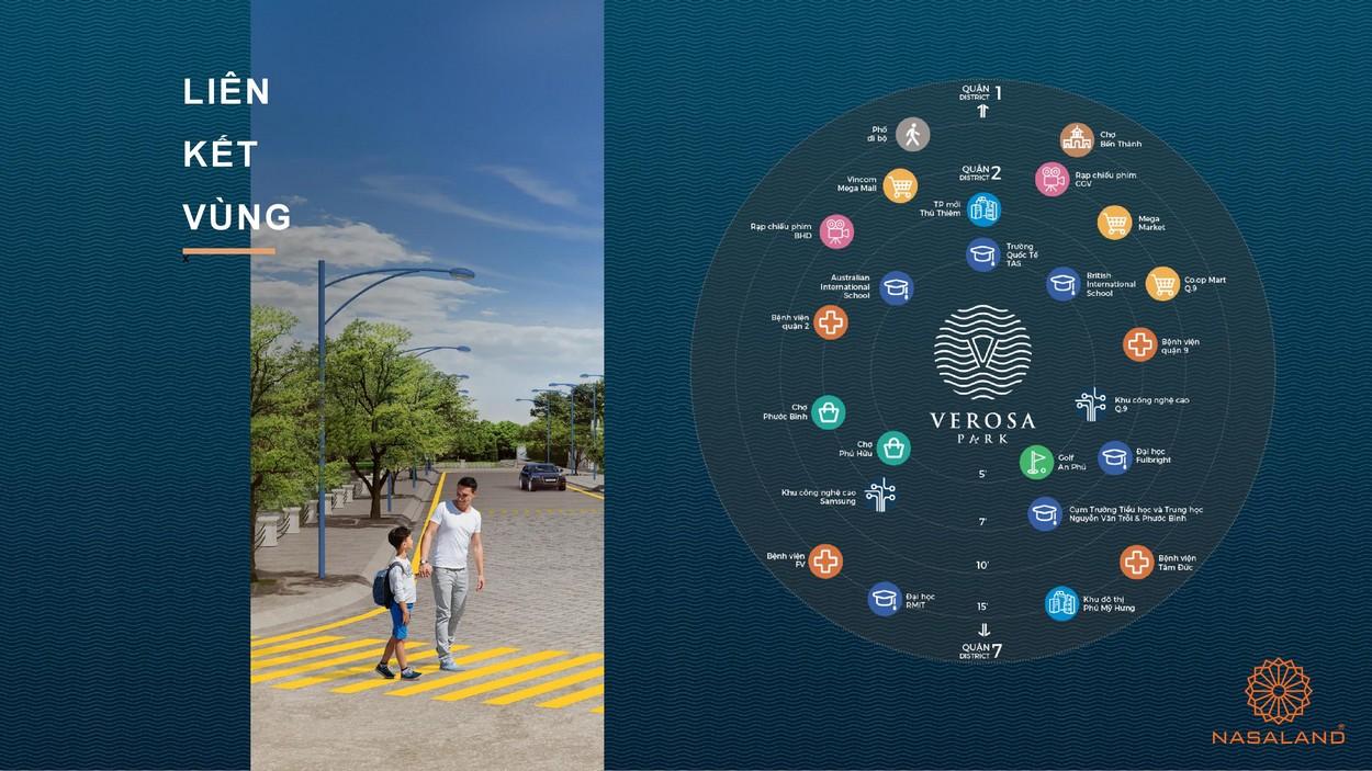 Liên kết vùng tại dự án nhà phố Verosa Park Khang Điền Quận 9