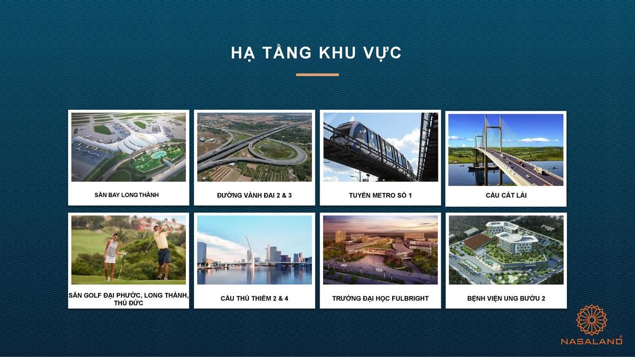 Hạ tầng xung quanh dự án nhà phố Verosa Park Khang Điền Quận 9