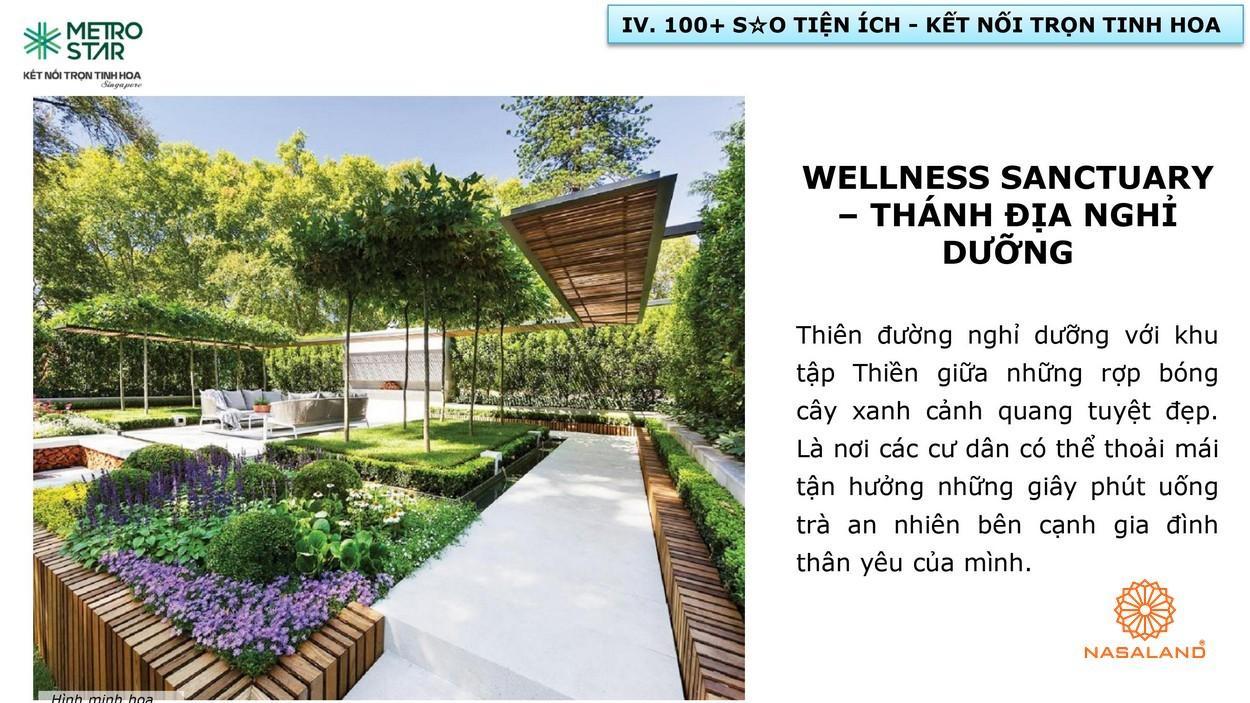 Wellness Sanctuary - Thánh địa nghỉ dưỡng