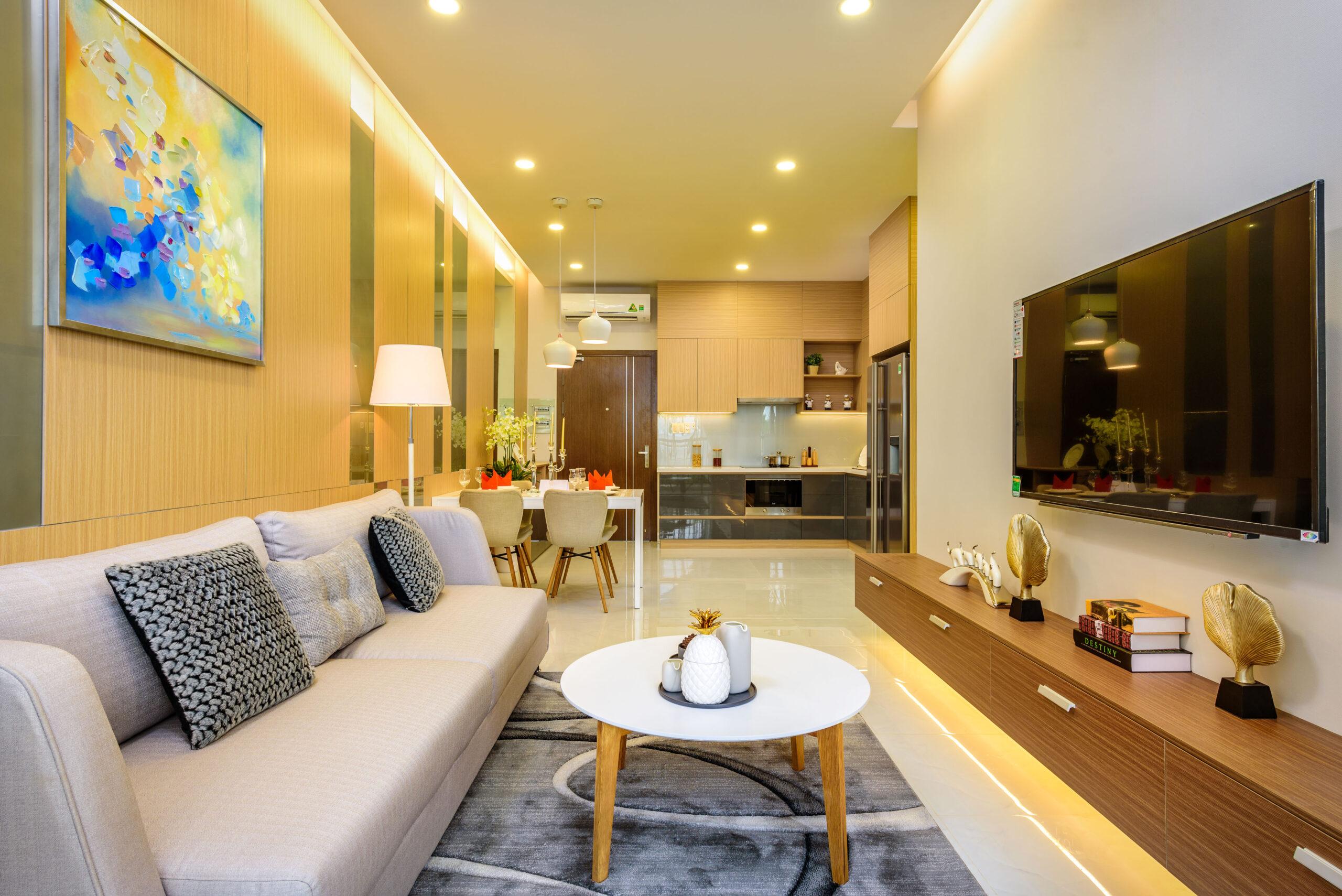 Nhà mẫu dự án Căn hộ Jamila Quận 9 Đường Song Hành chủ đầu tư Khang Điền
