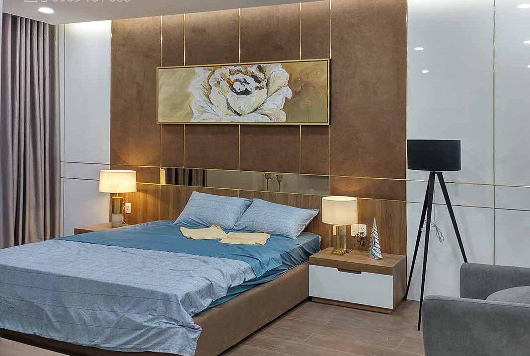 Nội thất phòng ngủ tại dự án căn hộ Jamila