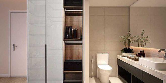 Nội thất nhà vệ sinh và phòng ngủ tại dự án căn hộ Jamila