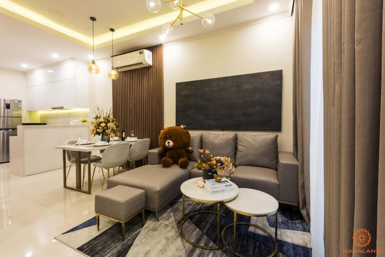 Nội thất căn hộ Metro Star - phòng khách